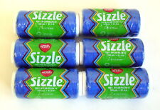 Red Heart Sizzle Crochet Thread #2 ROYAL BLUE Lot Sale (6 Skeins)