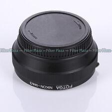 FOTGA Nikon AI F Objektiv Lens an Olympus Panasonic Micro 4/3 m4/3 Adapter E-PL6