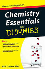 Chemistry Essentials For Dummies by John Thomas Moore (Paperback, 2010)