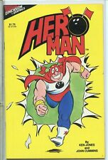 HeroMan 1986 one-shot # 1 very fine comic book