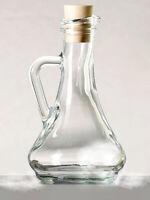 2 Stück Essig und Ölflasche  Essigflasche Öl Flasche Flaschen Glas