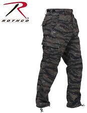 BDU pants military style tiger stripe camo cargo trousers Poly/Cott rothco 7995