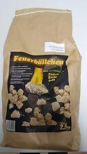 Feuerbällchen, Holzwolle-Anzünder Grill-Anzünder Ofenanzünder Original, Wachs