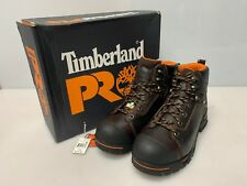 """Timberland Pro Boots Mens Endurance 6"""" Steel Toe Brown Work Boot 11M 52562"""
