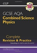 New Grade 9-1 GCSE Combined Science: Physics AQA Complete Revision & Practice.