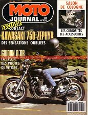 MOTO JOURNAL  958 Test KAWASAKI 750 Zéphir Guidon d'OR RAOUL PETITE Cologne 90