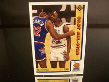 Rare Isiah Thomas Upper Deck 1991 Card #451 Detroit Pistons EAST ALL-STAR