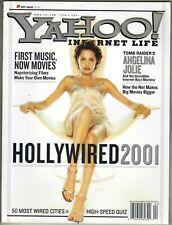 Angelina Jolie Tomb Raider Yahoo Magazin 4/01 Barfuß