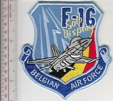 Aerobatic Belgium Air Force BAF F-16 Solo 350th Fighter Squadron Florennes AB