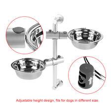 Pet Adjustable Height Raised Dog Bowl Feeder Bowl for Healthy Digestion Feeding