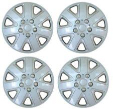 "Set of 4 16"" Silver Wheel Trims / Hub Caps fits Vauxhall Astra H Meriva B Zafira"