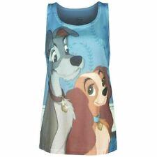 T-shirt, maglie e camicie da donna grigi Disney