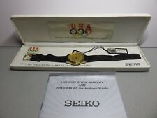 Seiko SGE054 Official Supplier to the 1992 Olympic Team Watch. Hard to find!