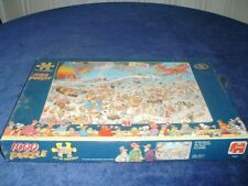 JAN VAN HAASTEREN - AT THE BEACH  - 1000 pieces jigsaw - new & sealed