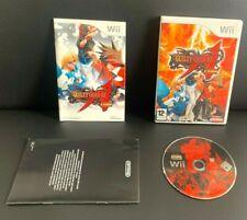 Guilty Gear XX Accent Core (Wii, 2008) mit Handbüchern sauber getestet 2d Fighter Pal