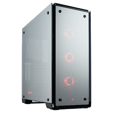 Corsair Crystal 570X RGB Mirror Mid Tower Gaming Case - Black USB 3.0