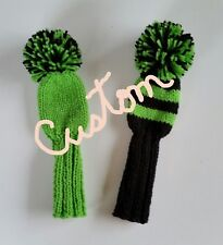 "SET OF 2 CUSTOM 9"" HEAD COVERS"
