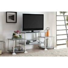 Entertainment Center Tv Media Stand Flat Panel Holder Console Table 3 Cube Shelf