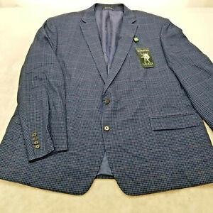 Lauren Ralph Lauren Men's ULTRAFLEX LOFTON Jacket -BLUE PLAID - Size 52R $295