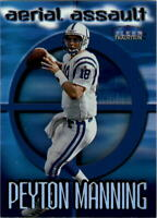 1999 Fleer Tradition Aerial Assault #10 Peyton Manning - NM-MT