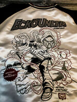 RARE Ecko unlimited graffiti jacket Comic Reversable jacket XXL