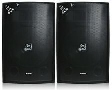 """COPPIA CASSE ACUSTICHE PASSIVE 1200W 2 x 12"""" diffusori no amplificate MOQUETTE"""