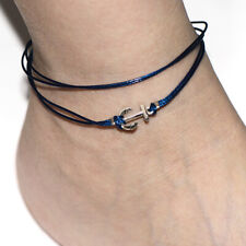 Jewelry anchor Charm Bohemia Foot Bracelet Blue Ankelts For Women Girl Summer