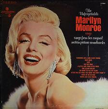 "THE UNFORGETTABLE MARILYN MONROE - AMERICAN PRESS  12""  LP (P848)"