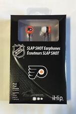 Philadelphia Flyers iHip Premium Audio Earphones Earbuds - iPhone iPod NEW