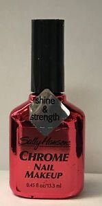 Metallic - Sally Hansen Chrome Nail Polish - Burmese Ruby # 69
