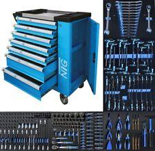 Werkzeugwagen Werkstattwagen Rollwagen - Komplett mit Werkzeug ! - 247 Teile -