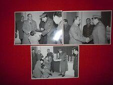 CHIETI - 24o CORPO VIGILI DEL FUOCO CONSEGNA PACCHI BEFANA 1958  3 FOTO POMPIERI