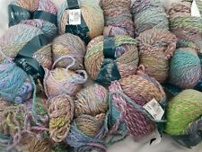 Bundle of hand knitting wool , acrylic.  815g. CHUNKY . Multicoloured.