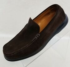 Cole Haan Loafers Moc Toe Mens Brown Leather Slip On Shoes Size 10.5M
