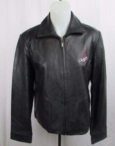 Los Angeles Dodgers Women's G-III Leather Jacket MLB Size Large