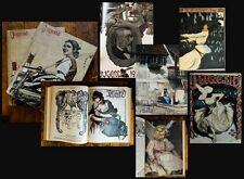 1902 Jugend Hirth Ostini Wochenschrift VII. Jahrgang 2 Bände 52 Hefte