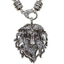Kirks Folly Aslan Lion King Pendant Charm Magnetic Interchangeable Necklace st