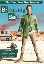 Breaking Bad: The Complete First Season DVD, 2009, 3-Disc Set NEW SEALED FREE SH