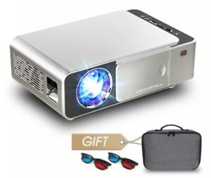 ALSTON Portable T6 full hd led projector 4k 3500 Lumens HDMI USB 1080p