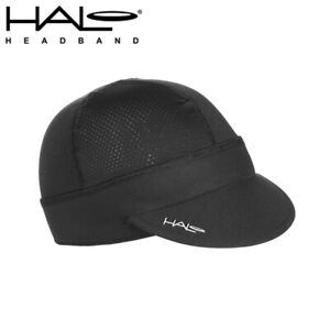 Halo Cycling Cap with Flexible Visor - Black - One Size