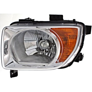 Fits 03-06 & 07-08  Element (except SC) Left Driver Headlamp Unit w/chrome bezel