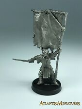 Metal Orc Standard Bearer - LOTR / Warhammer / Lord of the Rings X1096