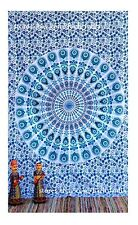 multi star twin Wall Hanging Indian Mandala Tapestry Hippie Bedspread Auction