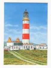Point Of Ayre Lighthouse Isle Of Man P Chesterton Art Postcard 896b