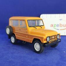 Moskvitch 2150 SUV USSR Soviet Orange Car 1:43 Scale Diecast Model 1973