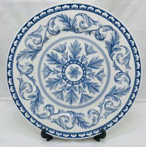 "Villeroy & Boch Casa Azul Blue Charger Plate Excellent Condition Rare 12"""