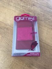 Glam Me By Celly Hot Pink Glitter iPhone Case iPhone 4 / 4S / 5