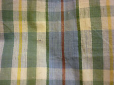 100% COTTON TABLECLOTH PLAID 54 X 54 INCHES