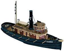 "Intricate, Mini Wooden Model Ship Kit by Mamoli: the ""Taurus"""