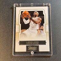 LEBRON JAMES 2010 PANINI CLASSICS #38 BASE CARD CLEVELAND CAVALIERS NBA